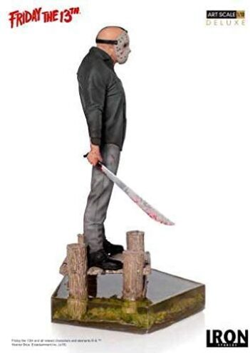 IRON STUDIOS Jason Deluxe Art Scale 1/10 Friday the 13th