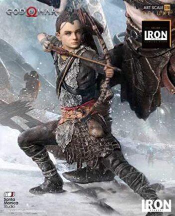 IRON STUDIOS GOD OF WAR KRATOS AND ATREUS 1/10