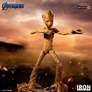 Iron Studios Marvel Avengers Endgame Groot