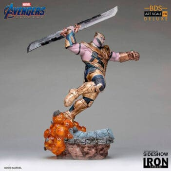 IRON STUDIOS Thanos Deluxe Art Scale 1/10 – Avengers: Endgame