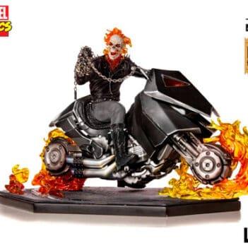 IRON STUDIOS Ghost Rider Escala 1/10 Marvel