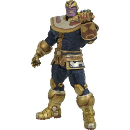 DIAMOND SELECT Marvel Select Thanos with Infinity Gauntlet PRE VENTA