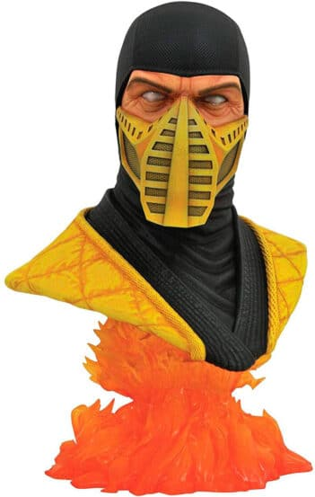 DIAMOND SELECT Mortal Kombat SCORPIONS Escala 12