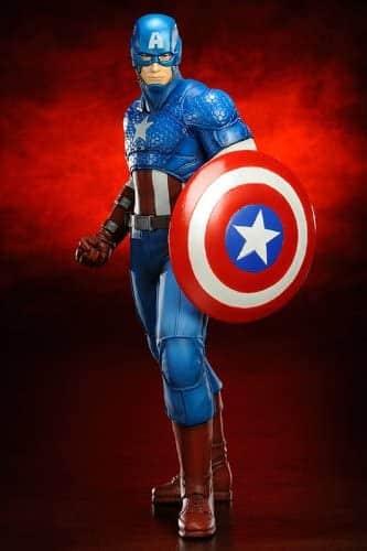 KOTOBUKIYA Marvel Capitan América ArtFX+