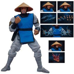 Mortal Kombat Raiden 1:12 Action Figure