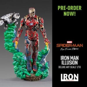 Iron Man Illusion Deluxe Art Scale