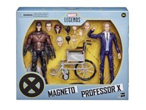 HASBRO X-Men (2000) 20th Anniversary Marvel Legends Magneto & Professor X Two-Pack PRE VENTA