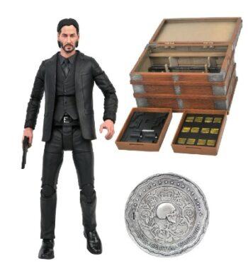 DIAMOND SELECT John Wick Deluxe Figure Box Set PRE VENTA