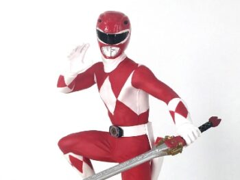 Mighty Morphin Power Rangers Red Ranger 1/8 Scale Statue