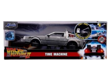 Back to the Future Part II Hollywood Rides Delorean Time Machine 1/24 Scale Vehicle