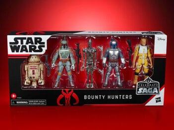 HASBRO Star Wars Celebrate the Saga Bounty Hunter Pack PRE VENT
