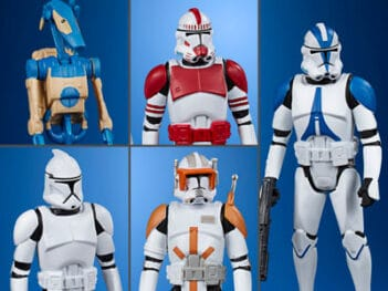 HASBRO Star Wars Celebrate the Saga Galactic Republic Pack of 5 PRE VEN