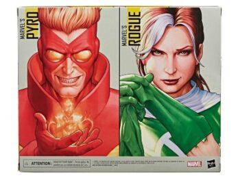 HASBRO X-Men 20th Anniversary Marvel Legends Rogue & Pyro PRE VENTA