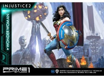 Injustice 2 Wonder Woman Premium Masterline 1/4 Scale Statue