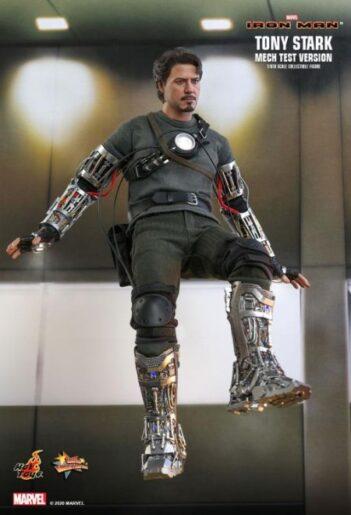 HOT TOYS Tony Stark (Mech Test Version) MMS581 PRE VENTA