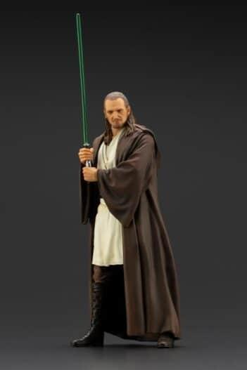 KOTOBUKIYA Star Wars: The Phantom Menace: Qui-Gon Jinn ArtFX+ PRE VENTA
