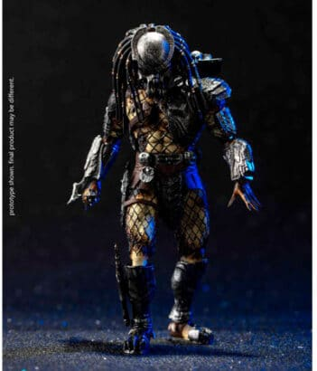 Alien vs. Predator Celtic Predator (Battle Damage) 1:18 Scale PX Previews Exclusive Action Figure