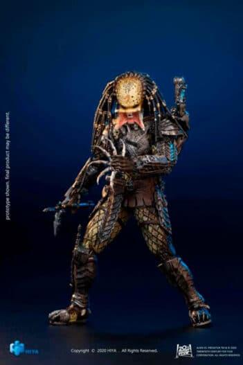 HIYA TOYS Alien vs. Predator Unmasked Scar Predator 1:18 Scale PRE VENTA