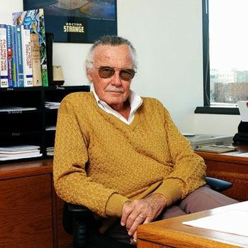 Stan Lee Mini Co. (Orange Sweater) PX Previews Exclusive