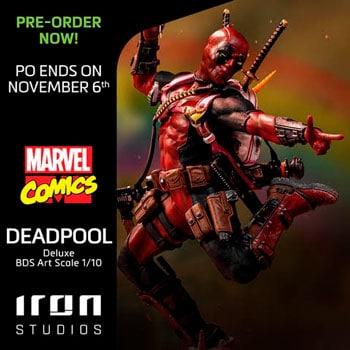Deadpool Deluxe BDS Art Scale 1/10 - Marvel Comics
