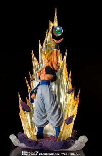 DRAGON BALL Z GOGETA FUSION SUPER FIERCE BATTLE FIGUARTS ZERO BANDAI