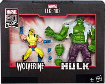HASBRO-Marvel-Comics-80th-Anniversary-Marvel-Legends-Hulk-Vs.-Wolverine