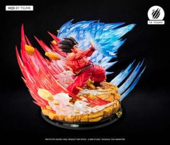 TSUME ART Dragon Ball Z Goku Kaio-Ken HQS PRE VENTA