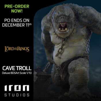 Lord of the Rings Cave Troll Deluxe BDS Art Scale 1/10