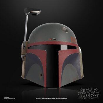 HASBRO Star Wars: The Black Series Boba Fett re armored (The Mandalorian) 1:1 Scale Wearable Helmet (Electronic) PRE VENTA