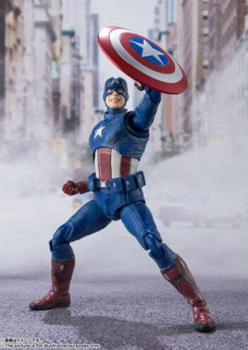 Figuarts Captain America (Avengers Assemble Edition)