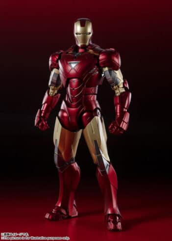 The Avengers S.H.Figuarts Iron Man Mark 6 (Battle Of New York Edition)