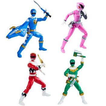 Power Rangers Lightning Collection Wave 8 Set of 4 Figures
