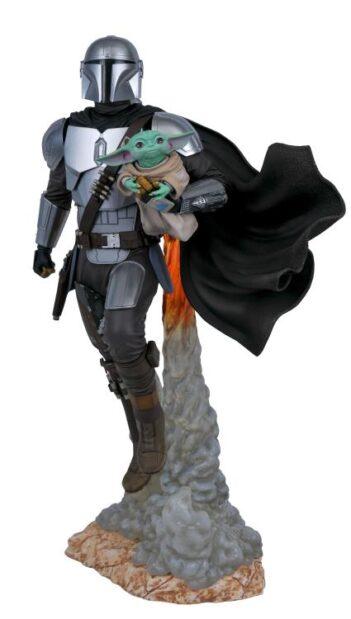 Star Wars Milestones The Mandalorian & The Child Limited Edition Statue