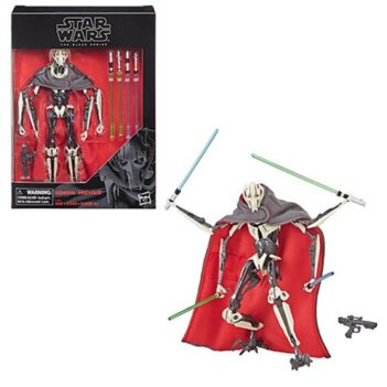 """Star Wars: The Black Series 6"""" Deluxe General Grievous (Revenge of the Sith)"""