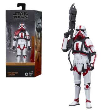 "HASBRO Star Wars: The Black Series 6"" Incinerator Trooper (The Mandalorian) Figure PRE VENTA"