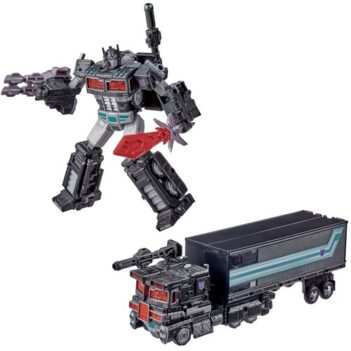 HASBRO Transformers War for Cybertron Trilogy Leader Battle Worn Nemesis Prime Spoiler Pack
