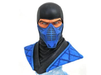 Mortal Kombat XI Legends in 3D Sub-Zero 1/2 Scale Limited Edition Bust