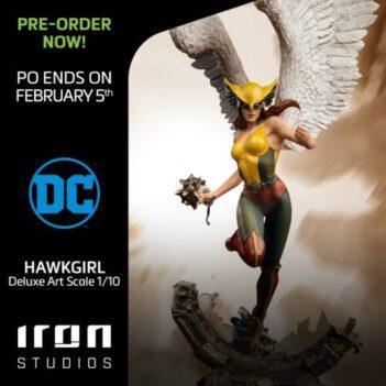 Hawkgirl Deluxe Art Scale 1/10 - DC Comics