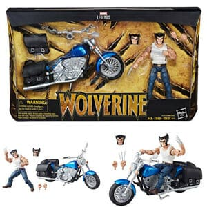 Marvel Legends Wolverine with motorcycle