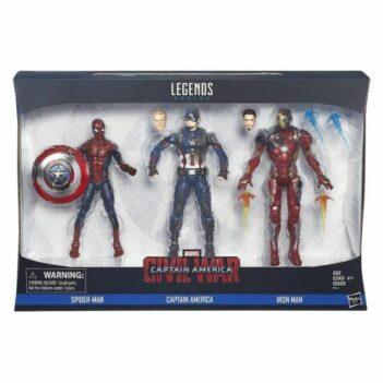 Marvel Legends Captain América Civil War 3 Pack