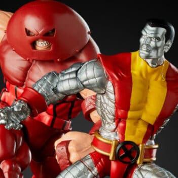 Marvel Comics 80th Anniversary Marvel Legends Colossus & Juggernaut Two-Pack