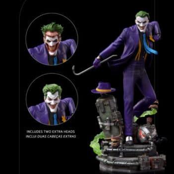 IRON STUDIOS DC Comics The Joker Deluxe Art Scale 1/10 PRE VENTA