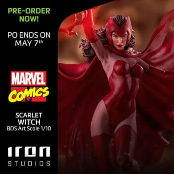 X-Men Battle Diorama Series Scarlet Witch 1/10 Art Scale Limited Edition Statue