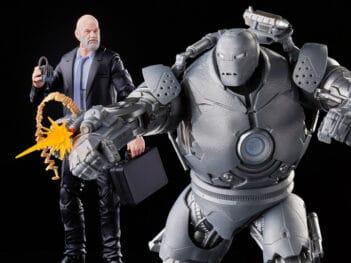 Iron Man Marvel Legends The Infinity Saga Obadiah Stane & Iron Monger