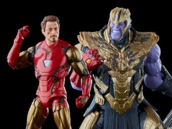 Avengers: Endgame Marvel Legends The Infinity Saga Iron Man Mark 85 & Thanos Two-Pack