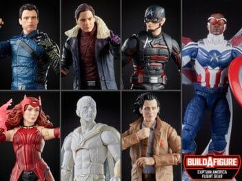 Disney+ Marvel Legends Wave 1 Set of 7 Figures (Captain America Flight Gear BAF)
