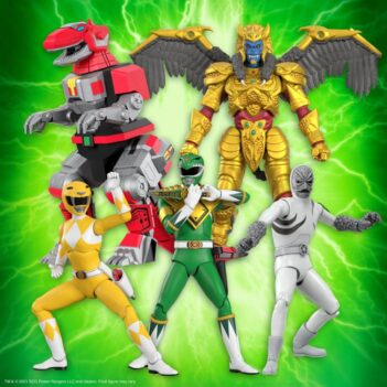 Mighty Morphin Power Rangers Ultimates Wave 1 Set of 5 Figures