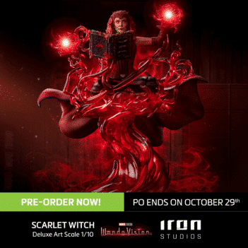 Scarlet Witch Deluxe Art Scale 1/10 - Wandavision