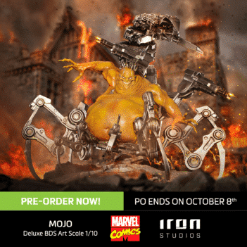 X-Men Battle Diorama Series Mojo 1/10 Art Scale Limited Edition Statue