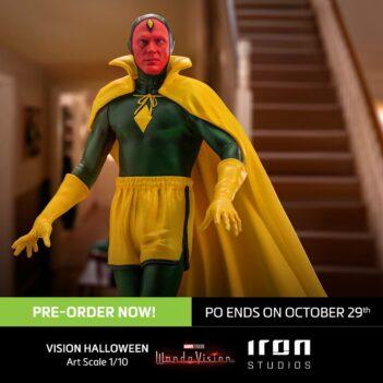 Vision Halloween Version Art Scale 1/10 - WandaVision